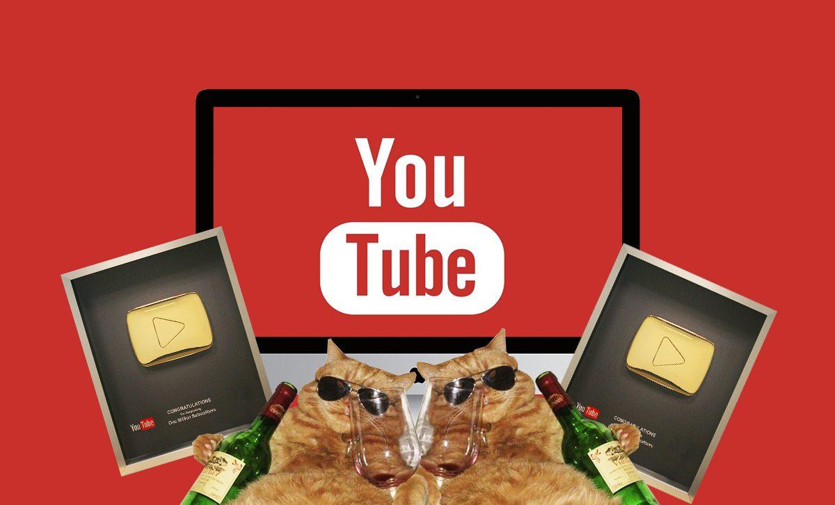 Просмотры видео на YouTube